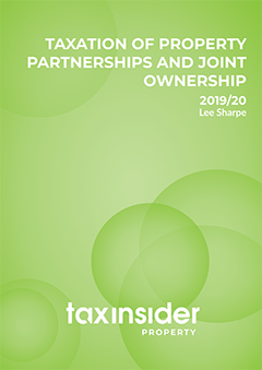 Taxation of Property Partnerships and Joint Ownership